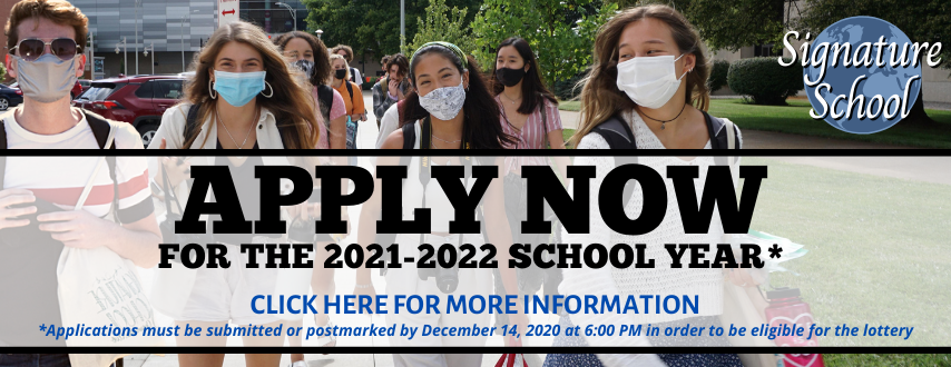 Click here to access applications for the 2021-2022 school year